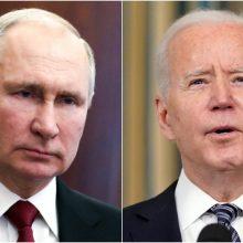 Kremlius perspėjo iš būsimo J. Bideno ir V. Putino susitikimo per daug nesitikėti