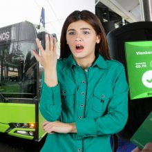 Po naujovės – sumaištis dėl Kauno viešojo transporto bilietų
