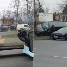 Per avariją Vilijampolėje nukentėjo du vaikai