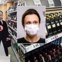 V. Čmilytė-Nielsen: siūlymai dėl alkoholio draudimų bus pateikti per artimiausias savaites