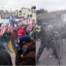 ES ir JT smerkia smurto protrūkį Vašingtone