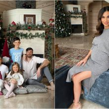Tatjana ir Kšištofas Lavrinovičiai laukia ketvirto vaikelio