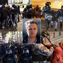 G. Landsbergis: A. Navalno įkalinimu Rusija parodo, kad yra įsivariusi į kampą