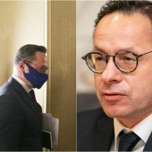 Seimas balsuos dėl opozicijos inicijuoto nepasitikėjimo Ž. Pavilioniu