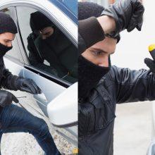 Švenčionėliuose pavogtas įmonės automobilis su įrankiais: nuostolis – 28 tūkst. eurų