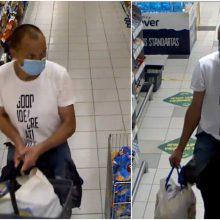 Kauno policija aiškinasi, kas parduotuvėje apsipirko už dyką