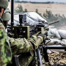 """Motorizuotoji pėstininkų brigada """"Žemaitija"""" rengiasi pratyboms"""