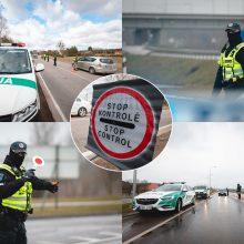 Šventinis savaitgalis Kauno apskrityje: patikrinta 30 tūkst. transporto priemonių, 456 teko grįžti
