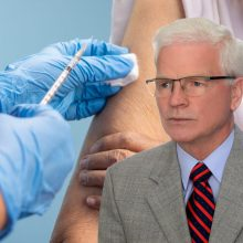 Profesorius apie kai kurių medikų nesiskiepijimą: stebina aplinkybės, kurios pagimdo antivakserių