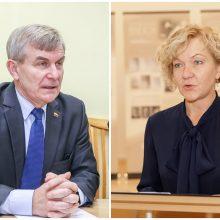 V. Pranckietis apie S. Rudėnaitės atleidimą: matyt, buvo nurodymai, kaip balsuoti