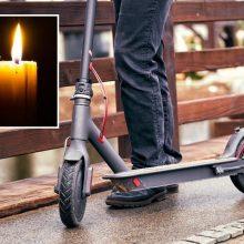 Tragiška: su dviratininku susidūręs paspirtuku važiavęs vyras ligoninėje mirė