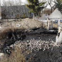 Tragiškas nakties gaisras Kaišiadorių rajone: sudegė žmogus