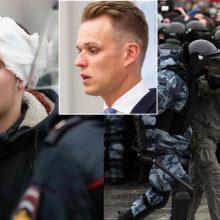 G. Landsbergis apie protestuotojų sulaikymą Rusijoje: kontrolė slysta, pone Putinai