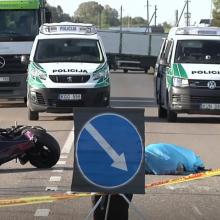 Motociklininko gyvybę nusinešusią avariją sukėlęs girtas vairuotojas siunčiamas už grotų