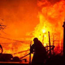 Tragiškas vidurnakčio gaisras pakaunėje: rastas sudegęs moters kūnas