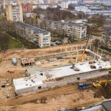 Įsibėgėja naujosios Kauno ledo arenos statybos