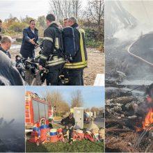 Meras ir vėl pratrūko: Alytaus gaisras užgesintas tik Vilniuje – su tuo ir sveikinu