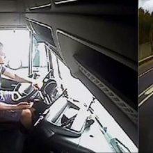 Vilkiko vairuotojas iš Lietuvos siautėjo Anglijos keliuose