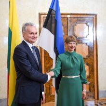 Lietuvos ir Estijos vadovai aptars COVID-19 situaciją, padėtį regione