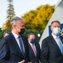 Prezidentas teigia, kad ES šalys diskutuos dėl galimų sankcijų Rusijai