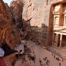 Jordaniška idilė, arba pabėgimas iš Vadi Rumo dykumos