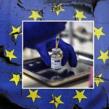 ES lyderiai per viršūnių susitikimą aptars skiepijimo nuo COVID-19 problemas