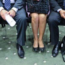 Pasiūlymas: leisti valstybės taryboje dirbti iki 70-ties metų