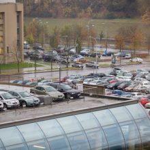 Už automobilių stovėjimą sostinėje teks mokėti euru brangiau?