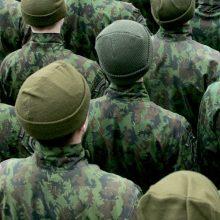Karo tarnybos vengusiam šauktiniui – 1 tūkst. eurų bauda