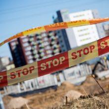 Kaune sustabdytos nelegalios daugiabučio statybos