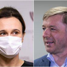 """V. Čmilytė-Nielsen: prie Seimo pavaduotojo """"valstiečiams"""" klausimo grįšime, kai išeis R. Karbauskis"""