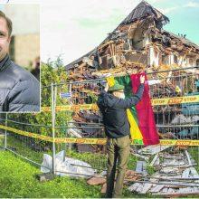 Neeilinis kriminalas: paaiškėjo, kad paveldo niokotojas nugriovė areštuotą vilą