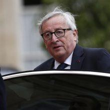 Dėl operacijos EK pirmininkas nutraukė savo atostogas