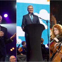 Kaune pasveikinti tūkstančiai mokytojų ir pagerbti metų laureatai