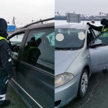 Kauno pareigūnams įkliuvęs beteisis vairuotojas: neturėjau laiko perlaikymui