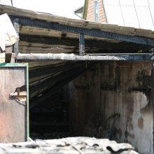 Gaisras garaže nusinešė Elektrėnų gyventojo gyvybę