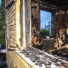 Per gaisrą Kauno rajone nukentėjo vyras <span style=color:red;>(atnaujinta)</span>