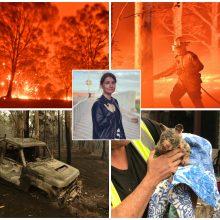 Lietuvė papasakojo apie siaubą Australijoje: širdį veria apokaliptiniai vaizdai