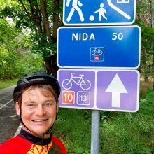 Dviračiu po Lietuvą – dešimt dienų, 1,4 tūkst. km, 100 eurų