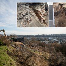 Šilainiuose statytojai bandė nuslėpti atkastus istorinius pamatus?