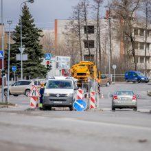 Kauniečiai nesupranta, kodėl kasama neseniai asfaltuota gatvė