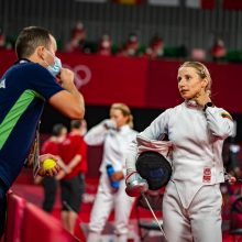 Olimpiadoje sužibėjusi penkiakovininkė sezono dar nebaigė