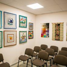 Bendrijos patalpos virto ekspozicijų sale