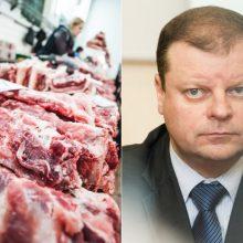 Premjeras: dėl kiaulienos importo į Lenkiją bus ieškoma diplomatinio sprendimo