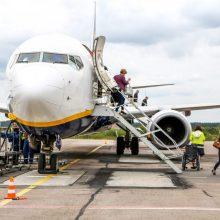 """""""Ryanair"""" nuo birželio skraidins iš Kauno į Liverpulį"""