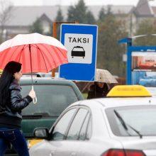 Aktualu pakaunės gyventojams: taksi stotelės galimos ir privačioje žemėje