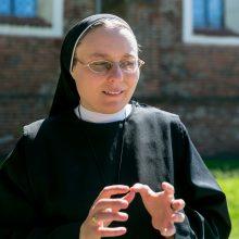 Sesuo Gabrielė: nepavarkime dalytis meile