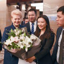Kaip Lietuva tikisi galva pramušti Kinijos sieną