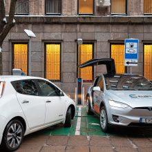 Elektromobilių savininkai: pas mus tik liežuviais mala, kad reikia skatinti ekologiją