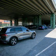 Vienoje Karaliaus Mindaugo prospekto aikštelėje brangsta automobilių statymas